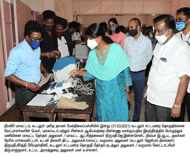 EVM Candidate Fixing Gudalur