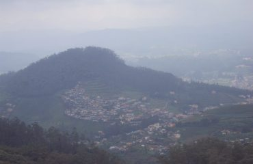 Ooty town from Dodabetta
