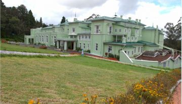Long view of Ooty Rajbhavan