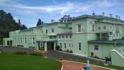 Front View of Rajbhavan, Ooty