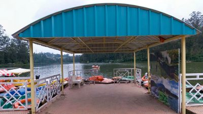Front View of Ooty Boat House