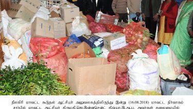 Flood Releif Supplies sent to wayanad