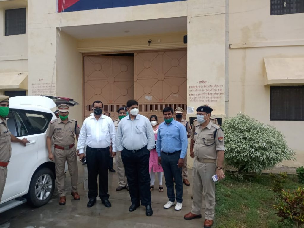 INSPECTION OF DISTRICT JAIL BY DISTRICT JUDGE AND DISTRICT MAGISTRATE DATED 29 JUNE 2020 | District Chitrakoot, An Official Website of District Chitrakoot | India