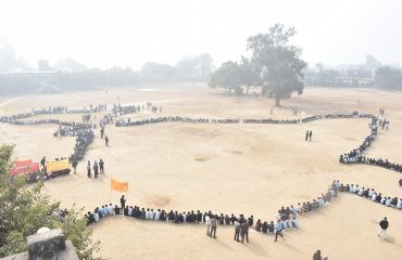 human chain (on voters days)