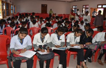 Students appearing in Quiz competition regarding General Election_2019