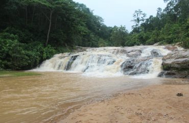 lawapani Waterfall Front View