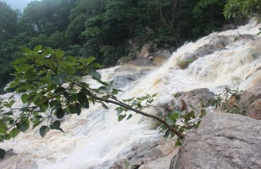 Lawapani Waterfall from Top