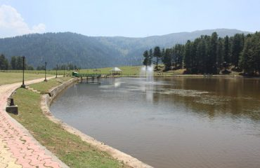Sanasar Lake of Udhampur