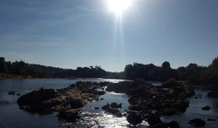Image of Sunrays at Phanliang near Nongkhnum river