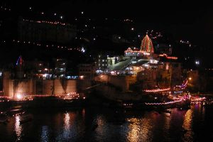 Omkareshwar temple on Narmada Jayanti