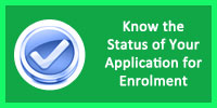 Know Status of Your Applicationapplication