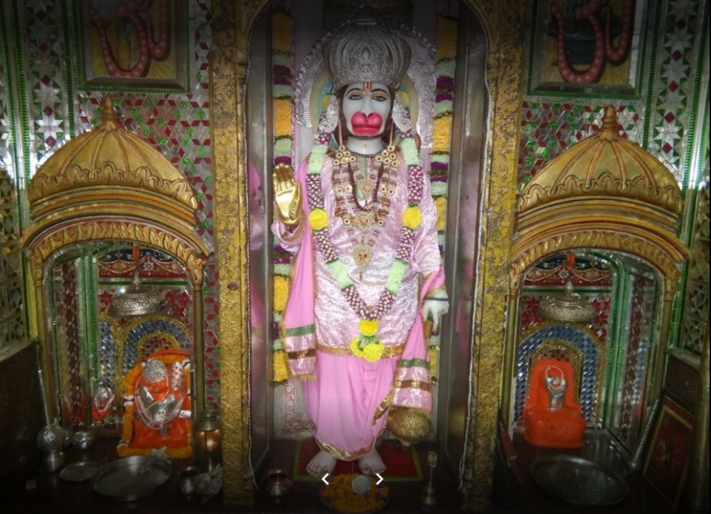 main hanuman idol