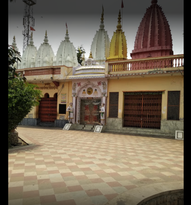 full view of premises of hanumaan temple