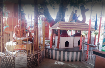 idol in premises of hanuman dham