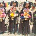 Zanskari Women in traditional dress