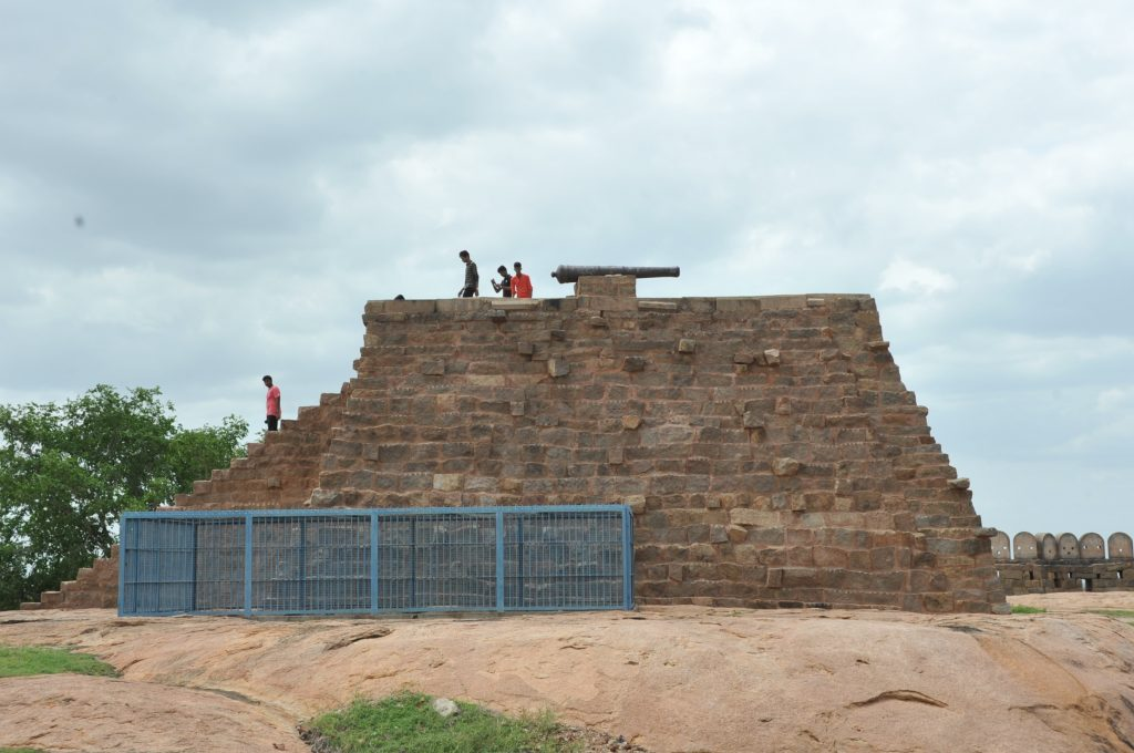 Thirumayam - Fort Cannon.