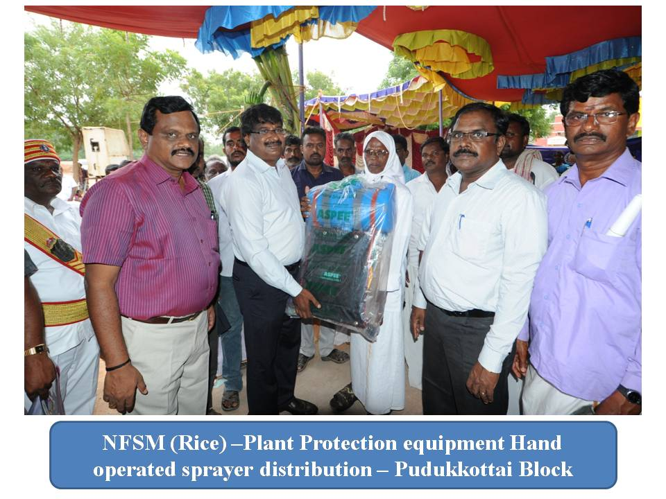Agriculture - Plant Protection equipment distribution.