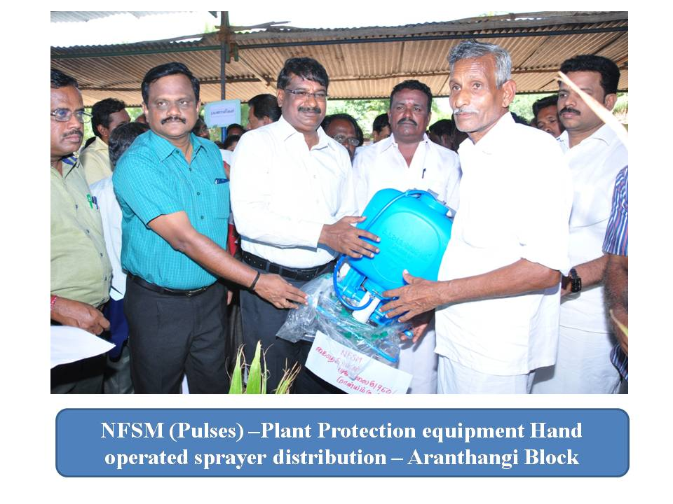 Agriculture - Plant Protection equipment distribution..