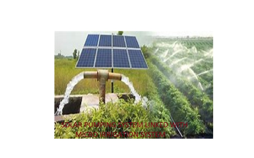 Agricultural Engineering - Solar Pumping System.