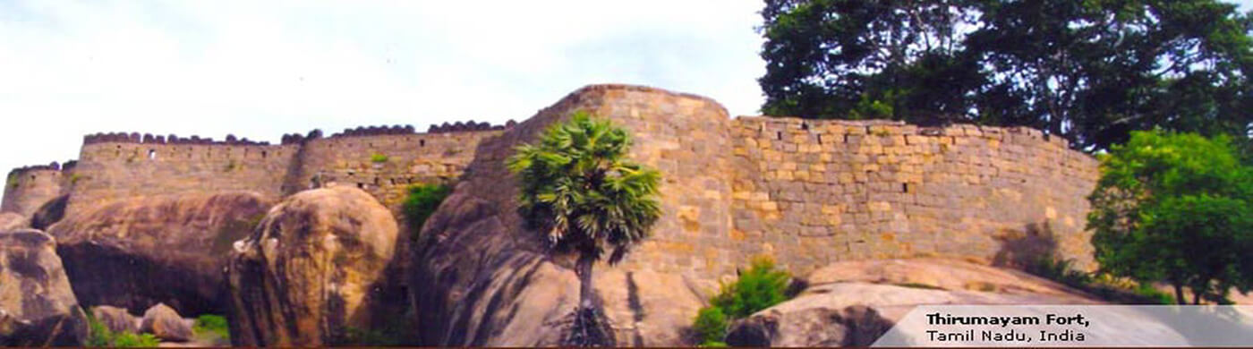 Thirumayam Fort.