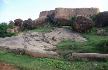 Thirumayam Fort View.