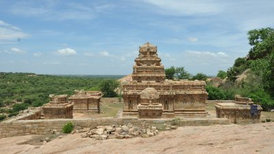 Narthamalai Cave Temple -Side View.