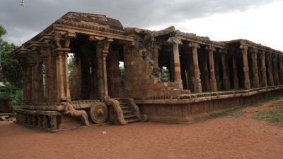Kunandarkovil Temple - Main Way Side View.