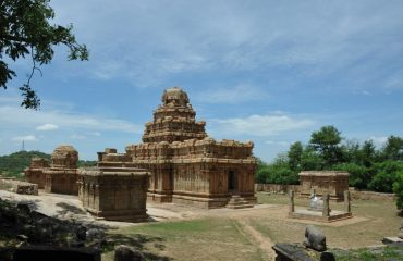 Narthamalai Cave Temple - Front Side View.