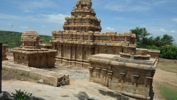 Narthamalai Cave Temple -Back Side View.