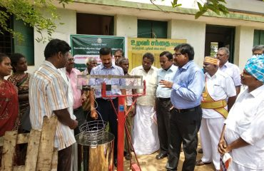 Agriculture Marketting - District Collector Visit.
