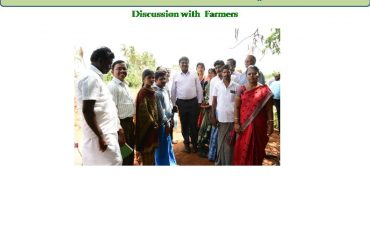 Watershed Development - Discussion with farmer.