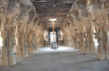 Kudumiyanmalai - Pillar Hall.
