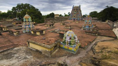 Thirugokarnam - Temple Bird's View.