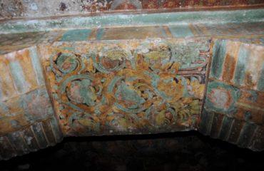 Chithannavasal - Pillar Painting.