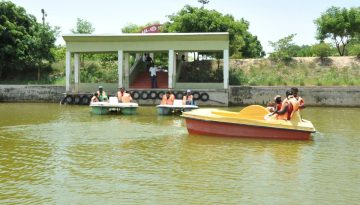 Chithannavasal - Boating Short View.