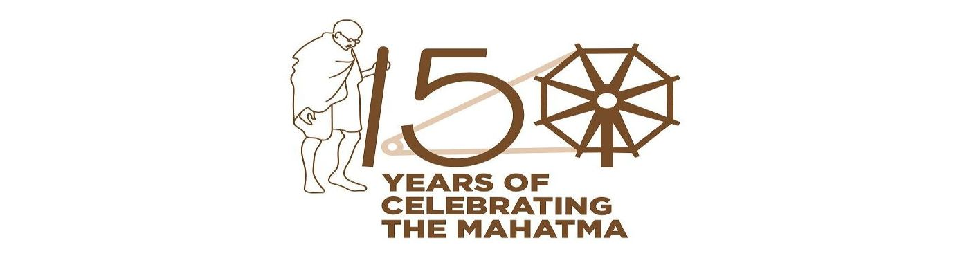 150th Birth Anniversary of Mahatma Gandhi.