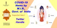 COVID-19 News by MIB Twitter Handle