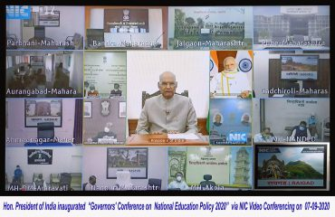 Honorable President of India's VC