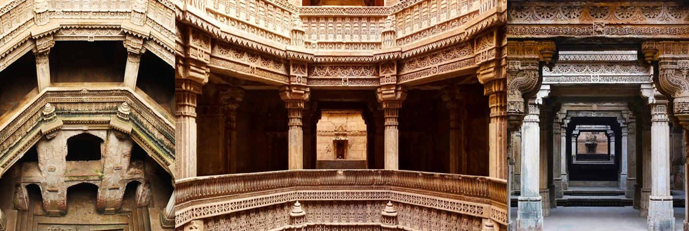 Adalaj Stepwell or Rudabai Stepwell