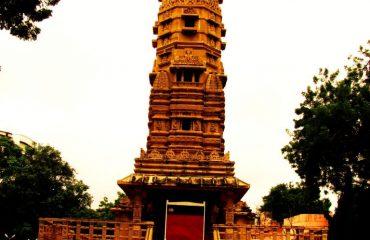 Famous Kirti Stambh of Hatheesing temple, Ahmedabad