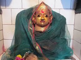Katrabad Devi Idol in temple at Mandavgaon