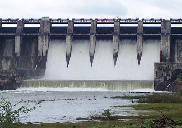 Front View of Mula Dam