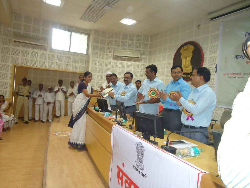 Revenue Day Function Indivisual prize distribution