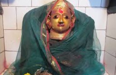 Katrabad Devi Idol in temple at Mandavgaon