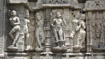 Sculptures in Baleshwar Lakshmi Narayan Temple