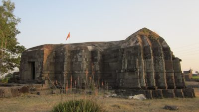 Full View of Lord Shiva Temple at Parner