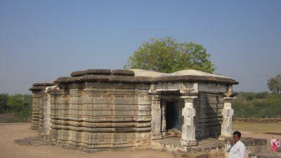 Full View of Katrabad Devi Temple