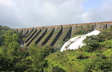 Side View of Bhandardara Dam Ahmednagar