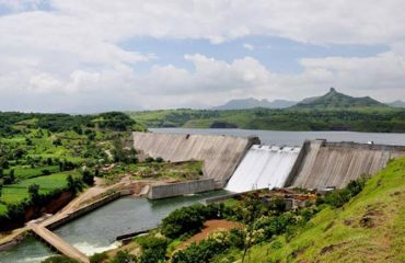 Full View of Bhandardara Dam