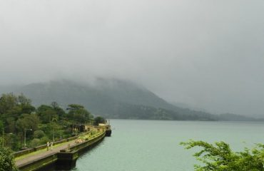 Far View of Bhandardara Dam